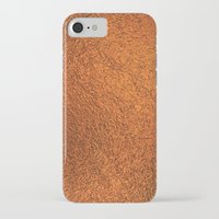 gold foil iPhone & iPod Cases featuring Gold Foil Texture 4 by Robin Curtiss