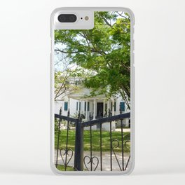 Gilded Gates Clear iPhone Case