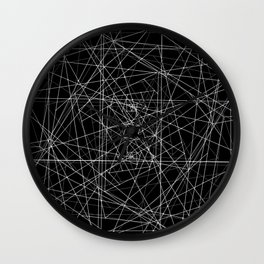 Constellations Revisited Wall Clock