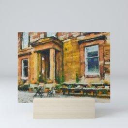 Garden Cafe PhotoArt Mini Art Print