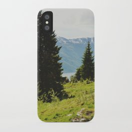 the forest and the fjords iPhone Case