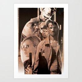 Goons Art Print