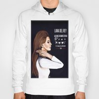 ultraviolence Hoodies featuring WEST COAST by Alfonso Aranda