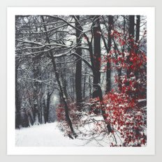 Winter Day Art Print