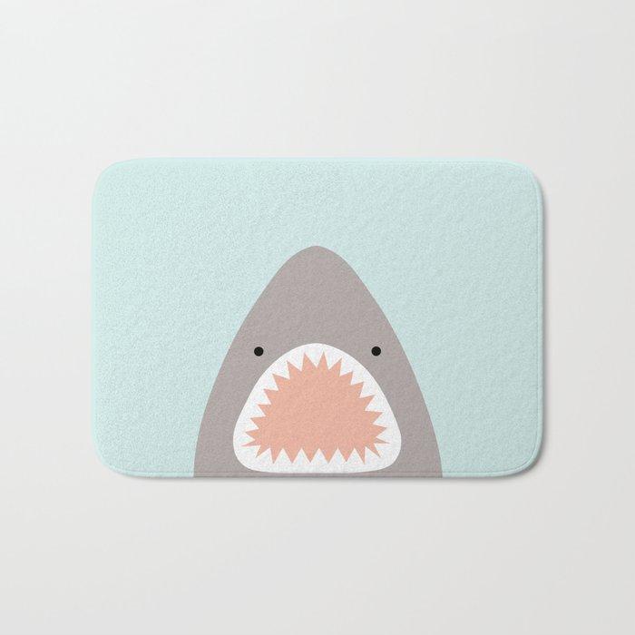shark attack Badematte