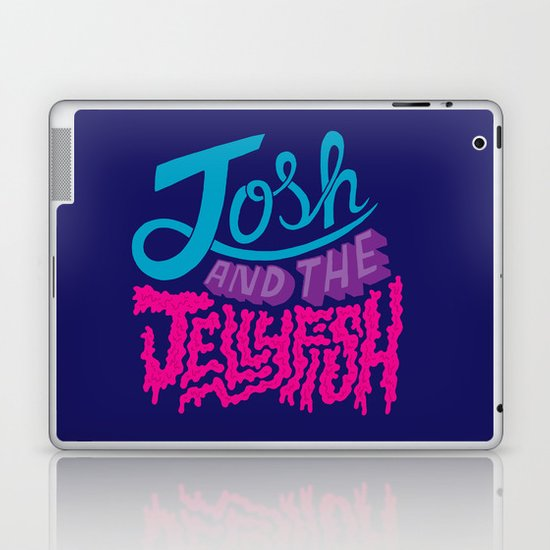 Josh and the Jellyfish Laptop & iPad Skin