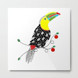 Bird of Costa Rica, toucan Metal Print