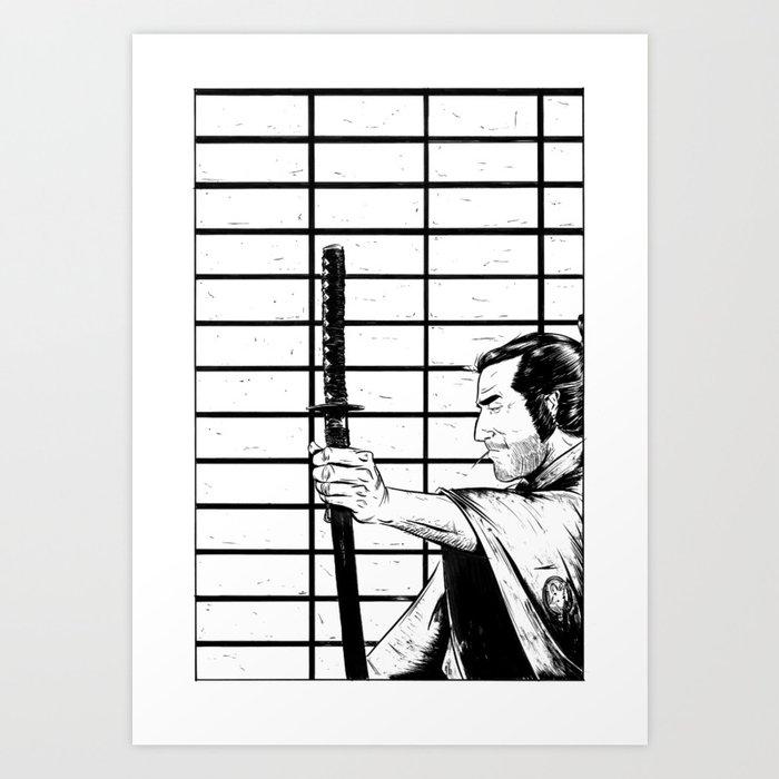 SANJURO Art Print