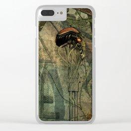 In alien Territory Clear iPhone Case