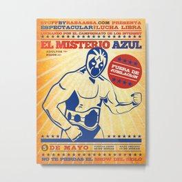 El Misterio Azul Metal Print