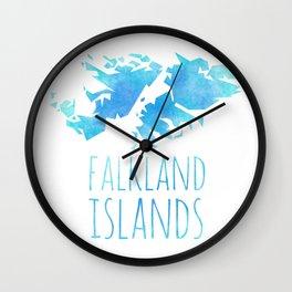 Falkland Islands Wall Clock