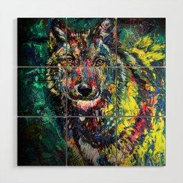 Wolf Wood Wall Art