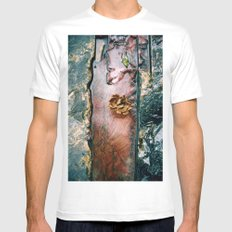 La Gran Sabana White Mens Fitted Tee MEDIUM