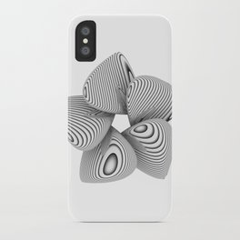 Bio Flower Art Print iPhone Case