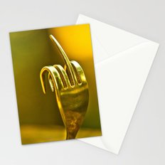 fork you Stationery Cards