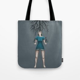 made from wood Tote Bag