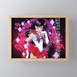 Super Sailor Mars Framed Mini Art Print