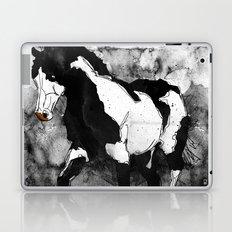 Black & White Horse Laptop & iPad Skin