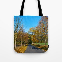 Autumnal feeling of October Tote Bag
