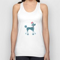 poodle Tank Tops featuring Poodle by Cathy Brear