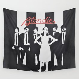 Blondie Stencil Wall Tapestry