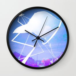 Space Crow -By Mantle Wall Clock