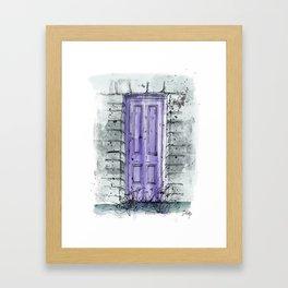 Secret Doors | Overgrown Framed Art Print
