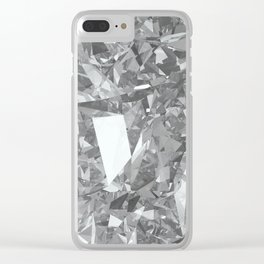Unknown: texture Clear iPhone Case