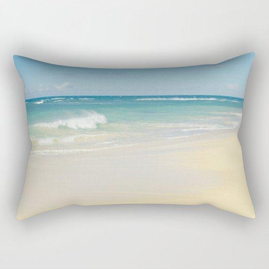 Beach Love the Secret Heart of Wonder Rectangular Pillow