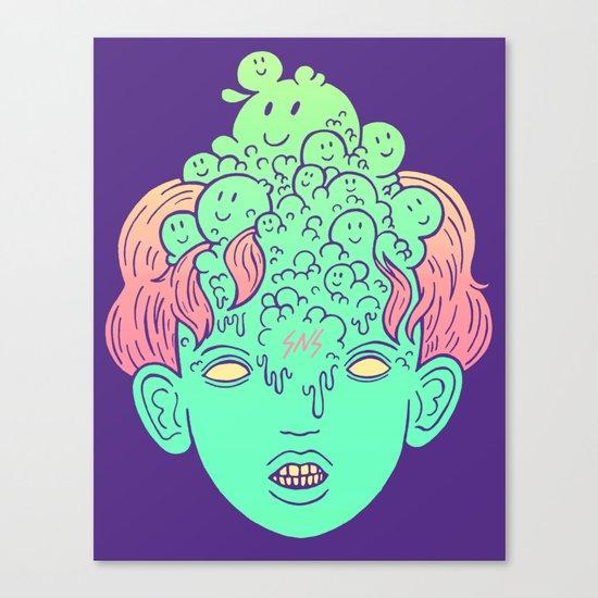 brain parasites Canvas Print
