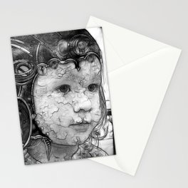 future girl Stationery Cards