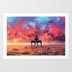 CANCER from the Dancing Zodiac Art Print