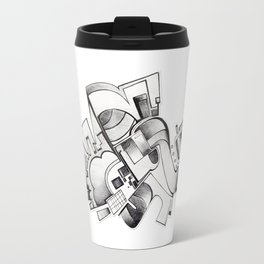 #20 – astratto Travel Mug