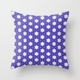 Purple Passion Pattern 9 Throw Pillow