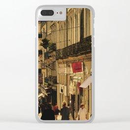 Saturday Shoppers (acheteurs samedi) Clear iPhone Case