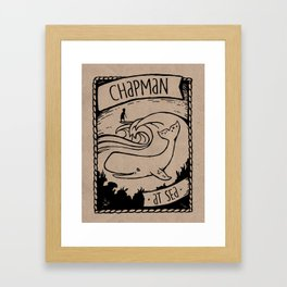 Chapman at Sea Framed Art Print