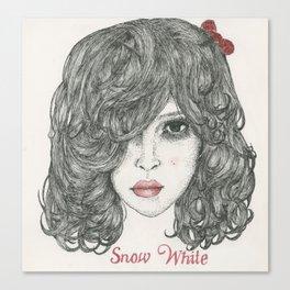Snow White ♡ Canvas Print