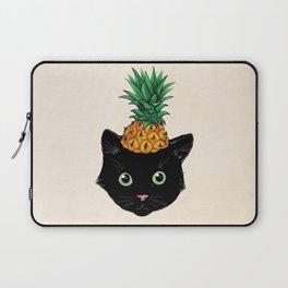 Pineapple Kitty Laptop Sleeve