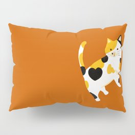 Calico Cat Pillow Sham