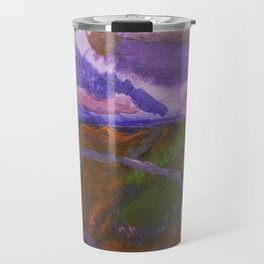 Waterfall painting Travel Mug