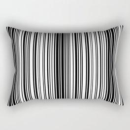 Barcode Pattern Rectangular Pillow