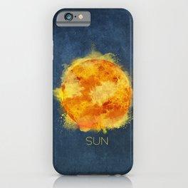 Sun iPhone Case