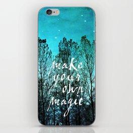 make your own magic iPhone Skin