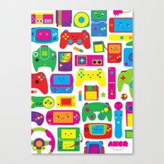 AXOR Heroes - Love For Games Canvas Print