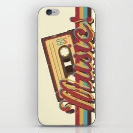 Music! (Retro Style) iPhone Skin