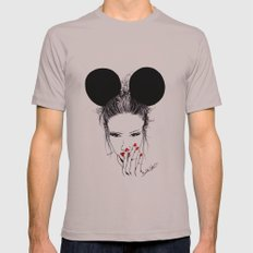 Minnie Mouse Mens Fitted Tee Cinder SMALL