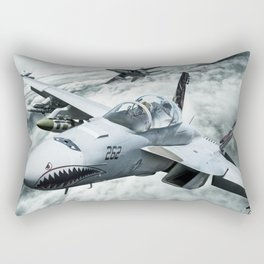 Ghost Rider this is Mustang... vector 090 for Boggie Rectangular Pillow
