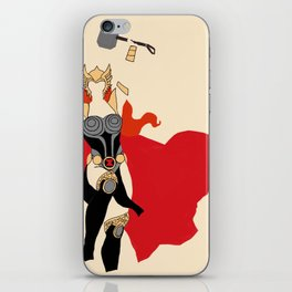 Thor-Widow iPhone Skin