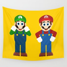 Mario & Luigi Wall Tapestry