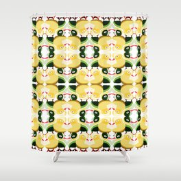 Pato Amarillo Shower Curtain